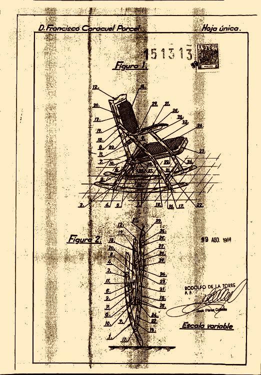 Mecedora plegable 1 de septiembre de 1974 - Mecedora plegable ...