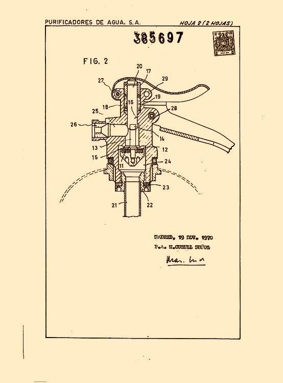 Purificadores de agua s a 30 patentes modelos y o dise os for Manual de diseno y construccion de albercas