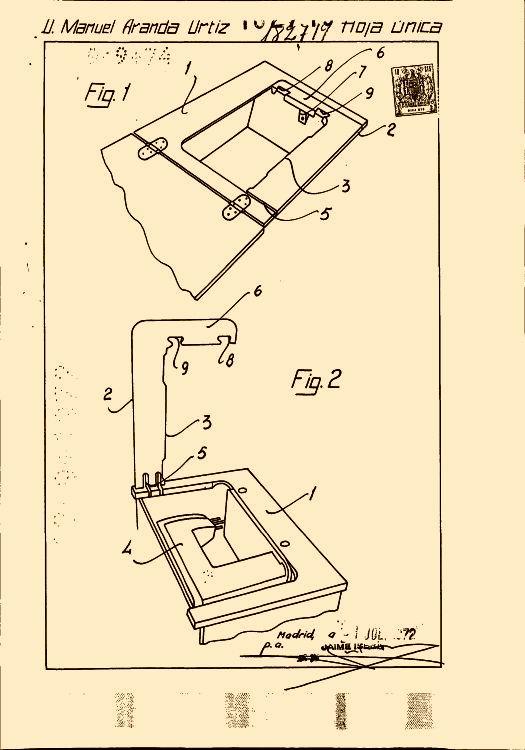 Mueble para maquina de coser basculante - Mueble para maquina de coser ...