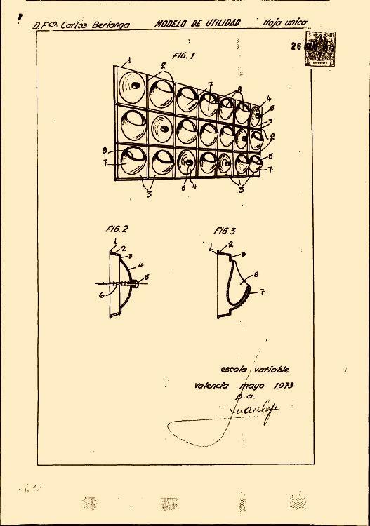 Berlanga gonzalez francisco carlos 11 patentes modelos - Recubrimientos de paredes ...