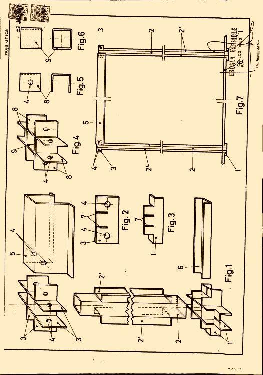 Perfiles para el armado de modulos planos de construccion for Planos de construccion