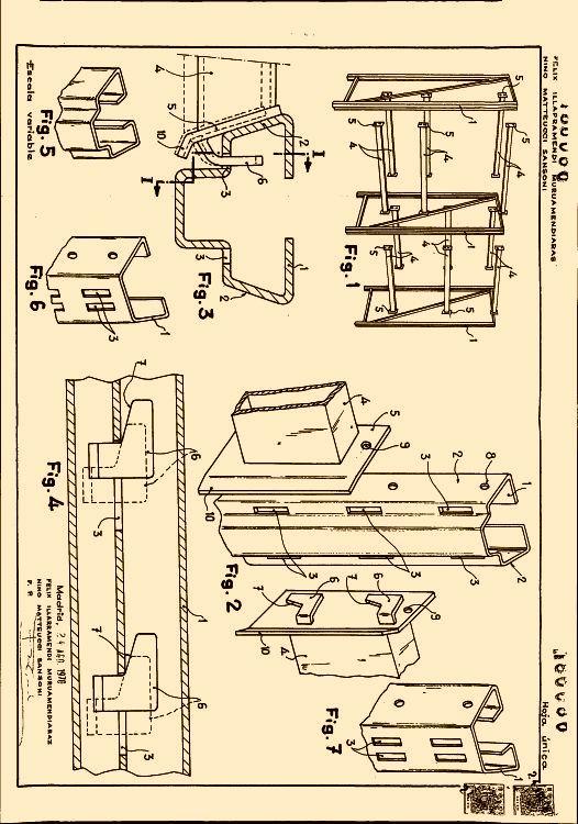 Sistema de anclaje para estanterias metalicas for Perfiles de estanterias metalicas