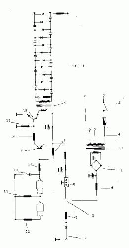 Circuito Ionizador De Aire : Circuito aparato ionizador de aire patentados