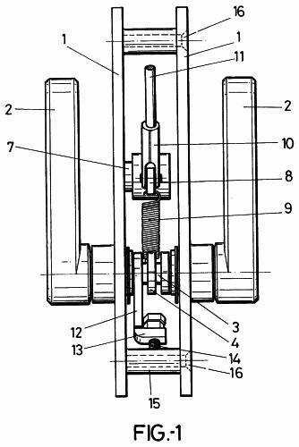 Mecanismo de accionamiento para la apertura neumatica de - Mecanismo puerta corredera ...