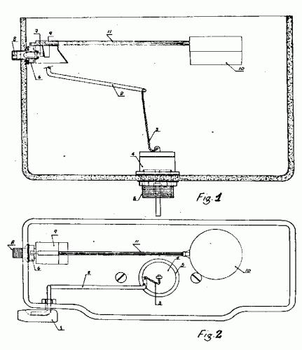 Mecanismo simplificado para el llenado y vaciado del tanque - Mecanismo de cisterna ...