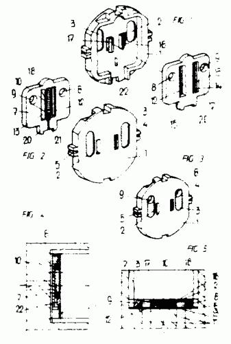 Vilaplana s a 64 patentes modelos y o dise os - Bases de enchufes ...