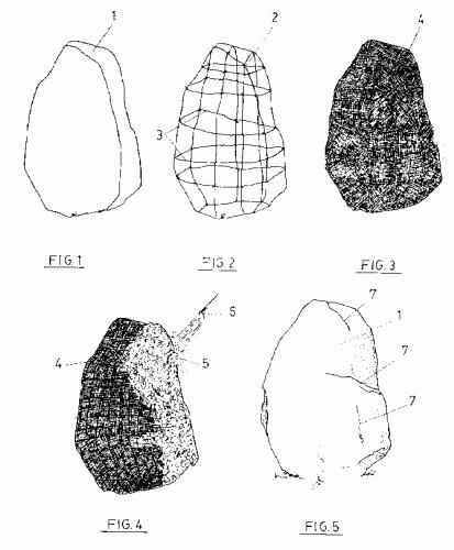 Procedimiento para la obtencion de rocas artificiales ac - Moldes para piedras artificiales ...