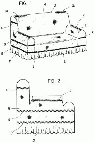 Tilber s a 11 patentes modelos y o dise os - Patron funda sofa ...