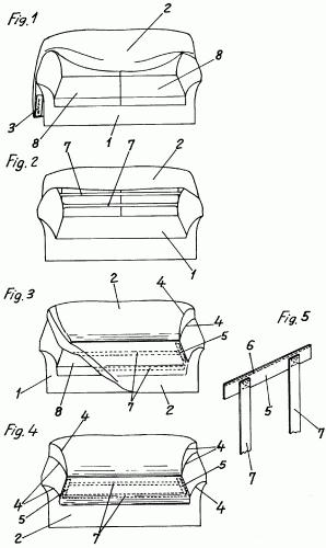 Funda elastica perfeccionada para sofas y sillones - Como hacer fundas para sofas paso a paso ...