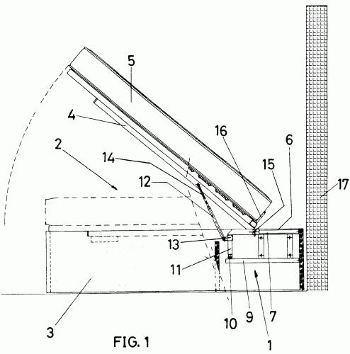 Mecanismo de elevacion de un mueble cama - Mecanismo para camas abatibles ...