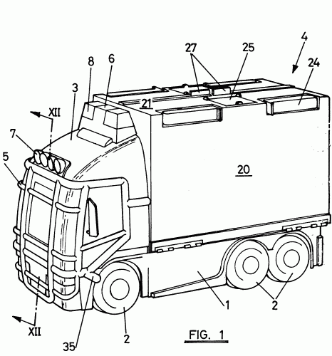 CAMION TRANSFORMABLE DE JUGUETE.