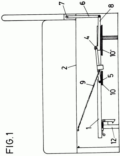 Mecanismo de articulacion de un sofa cama abatible - Mecanismo para camas abatibles ...