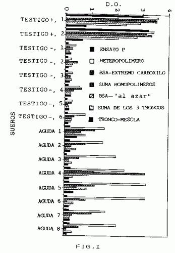 PROCEDIMIENTO DE SINTESIS DE PEPTIDOS CON CAPACIDAD DE DETECTAR ANTICUERPOS ANT-VIRUS DE LA HEPATITIS C (VHC) EN SUERO DE INDIVIDUOS AFECTADOS.