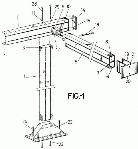 Estructura soporte para toldos tipo pergola for Estructura de aluminio para toldo