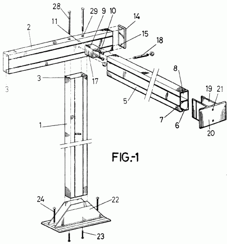 Estructura soporte para toldos tipo pergola for Estructura de toldo
