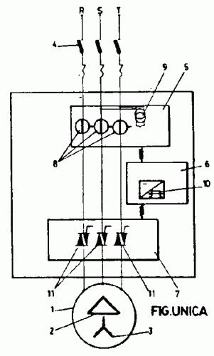 SISTEMA ELECTRONICO PARA ECONOMIZAR ENERGIA EN MOTORES ASINCRONOS TRIFASICOS CON CARGAS VARIABLES.