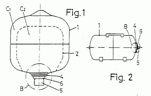 Acumulador hidroneumatico con membrana recambiable Membrana de hidroneumatico