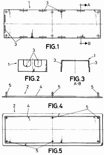 Caja perfeccionada aplicable a la pre instalacion de aire for Caja aire acondicionado