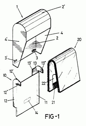 Dispensador de bolsas de plastico perfeccionado 1 - Dispensador de bolsas de plastico ...