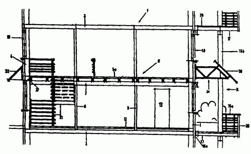 ESTRUCTURA DE CONSTRUCCION CON ESTRUCTURAS PRIMARIAS FIJAS Y SECUNDARIAS VARIABLES.