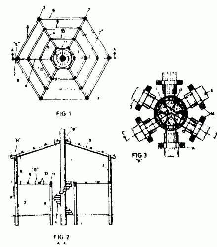 Estructuras permanentes para la construccion de edificios for Estructuras para viveros plantas