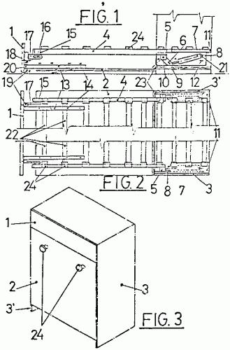 Mecanismo para cama abatible 1 de noviembre de 1999 - Mecanismo para camas abatibles ...