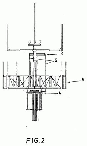 Columna para soporte de antenas de telecomunicaciones con - Soporte para antena ...