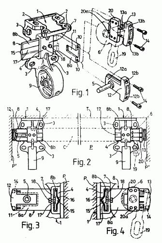Disposicion de soporte perfeccionada para toldos - Mecanismo para toldos ...