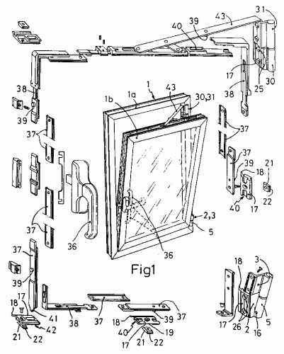 Dispositivo para ventanas oscilobatientes for Puerta oscilobatiente