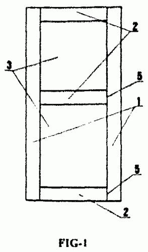 estructura de bastidor de puerta para su utilizacion con