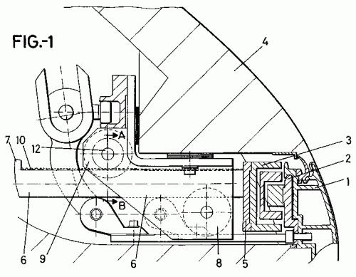 Faiveley espa ola s a 28 patentes modelos y o dise os - Mecanismos de puertas correderas ...