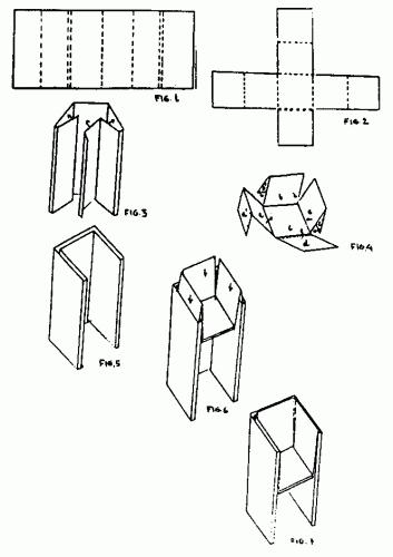 Silla de carton desmontable Silla-de-carton-desmontable