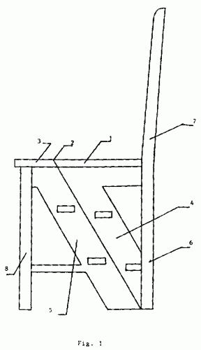 Silla transformable en escalera for Silla convertible en escalera