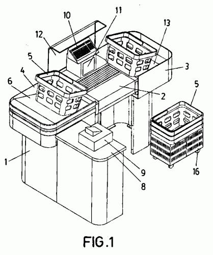 Mueble caja para supermercados y similares for Muebles para supermercado