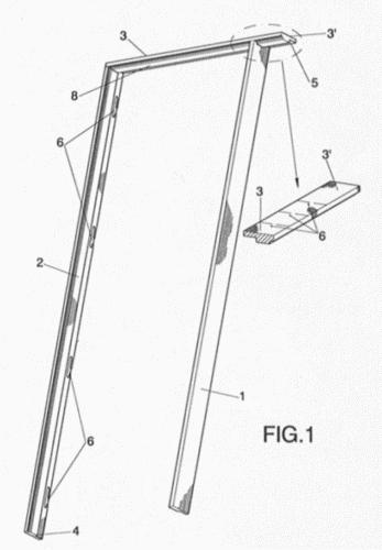 disposicion mejorada de marcos para puertas