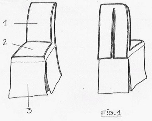 Moldes de sillas navide as imagui - Como hacer fundas para sillas de comedor ...