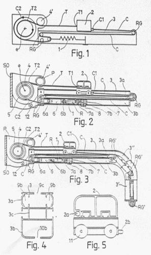 Mecanismo para desplazamiento de toldos horizontales - Mecanismo para toldos ...