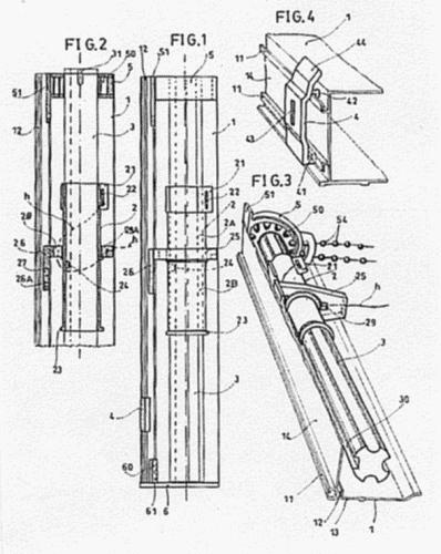 Mecanismo para estores o cortinas - Mecanismo estores enrollables ...