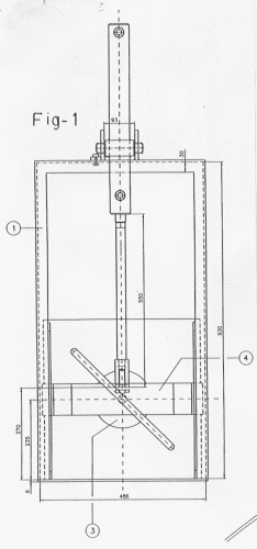 Puerta guillotina autovaciante 16 de marzo de 2002 for Puerta guillotina