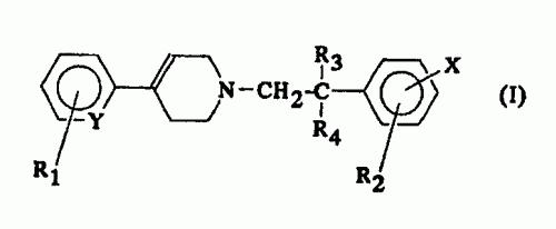 4 - ARIL - 1 - FENILALQUIL - 1, 2, 3, 6 - TETRAHIDROPIRIDINAS CON ACTIVIDAD NEUROTROFICA Y NEUROPROTECTORA.