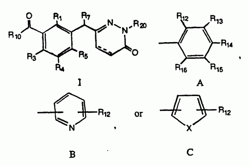 DERIVADOS DE 6- BENCIL- 2H-PIRIDAZIN-3-ONA, SU PREPARACION Y S.