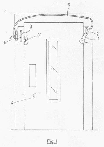 Dispositivo de apertura para puertas de ascensor for Apertura puertas