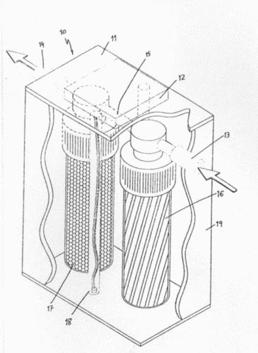 Dispositivo para el filtrado de agua domestica - Filtrado de agua ...