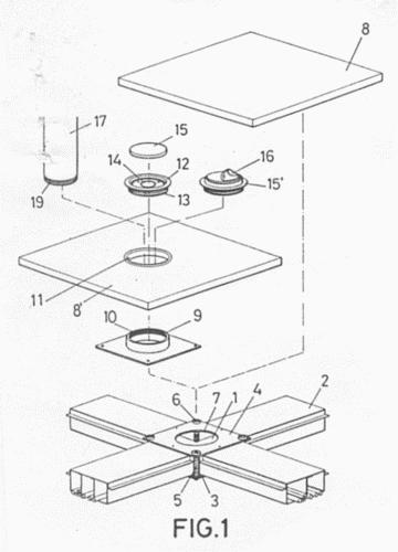 Estructura para revestimiento de suelos y paredes 1 - Revestimientos para suelos ...