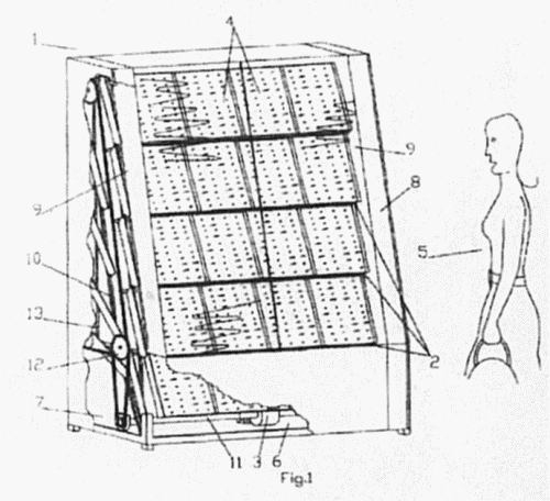 EXPOSITOR CON MOVIMIENTO.