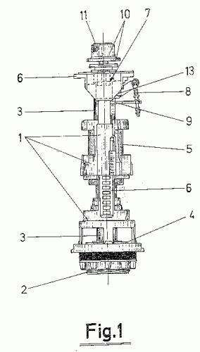 Mecanismo de ahorro cuantificado de agua en inodoros por for Mecanismo cisterna doble pulsador