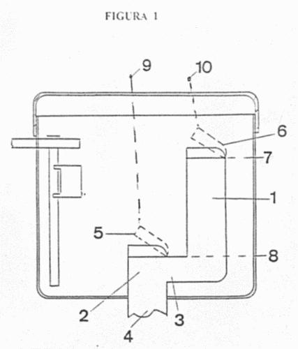 Mecanismo para la descarga de cisternas de inodoro con dos for Valvula descarga inodoro