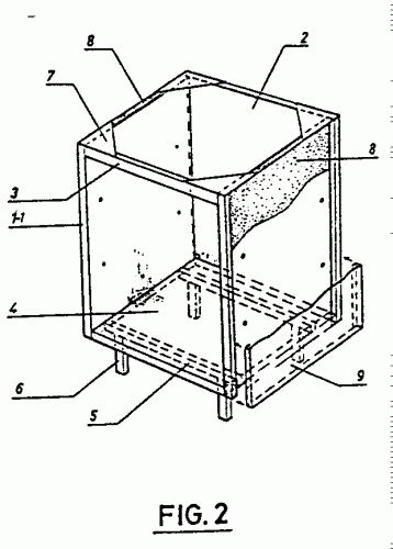Sistema de construccion de muebles de chapa de aluminio for Muebles de chapa