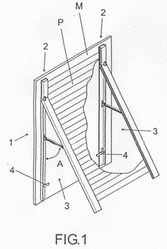 Sistema de persiana enrollable abatible for Partes de una persiana