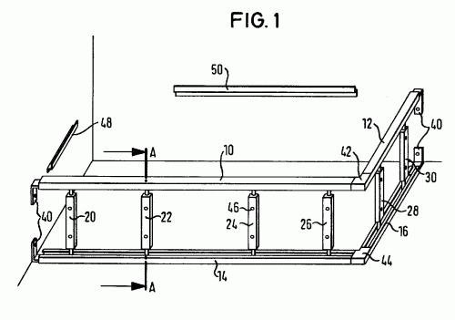 Sistema de soporte para cubas de ba o ducha o hidromasaje for Soporte para ducha sin taladrar